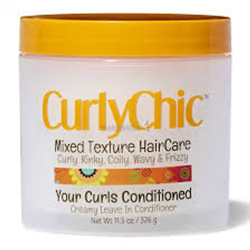 CurlyChic | Mixed Texture HairCare | Your Curls Conditioned Creamy Leave In Conditioner