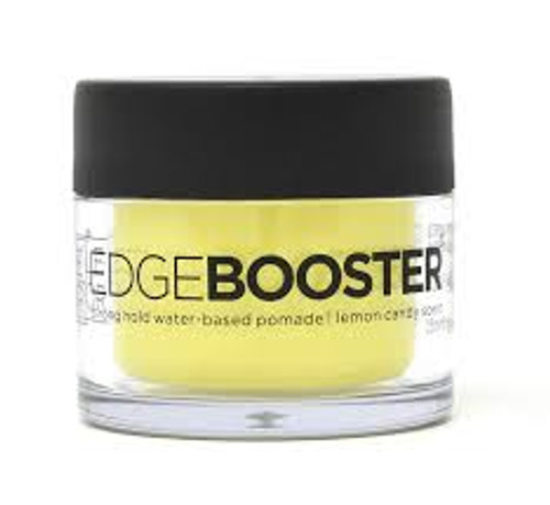 Style Factor | Edge Booster | Strong Hold Water-Based Pomade | Lemon Candy Scent