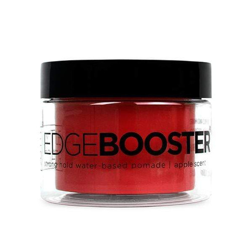 Style Factor | Edge Booster | Strong Hold Water-Based Pomade | Apple Scent