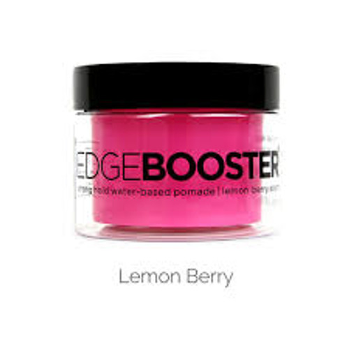Style Factor | Edge Booster | Strong Hold Water-Based Pomade | Lemon Berry Scent