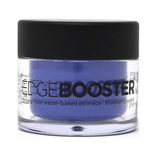 Style Factor | Edge Booster | Strong Hold Water-Based Pomade | Blueberry Scent