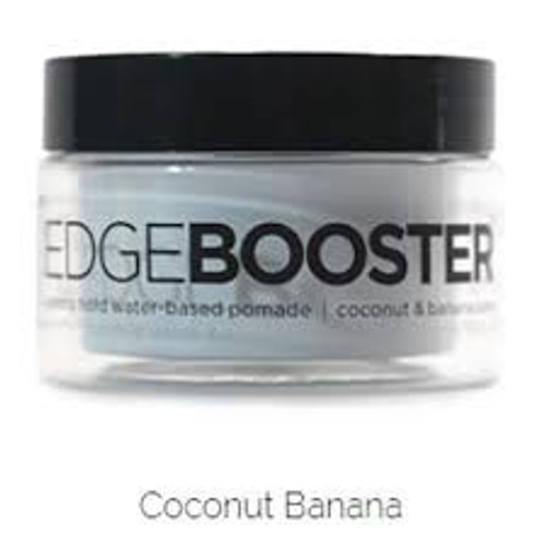 Style Factor | Edge Booster | Strong Hold Water-Based Pomade | Coconut Banana Scent
