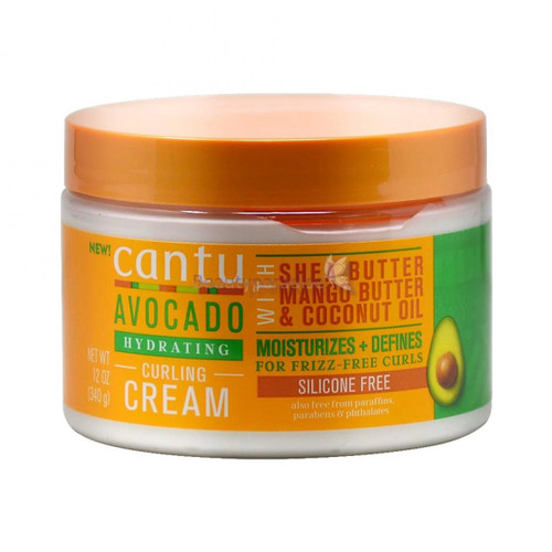 Cantu | Avocado | Hydrating Curling Cream With Shea Butter Mango Butter & Coconut Oil