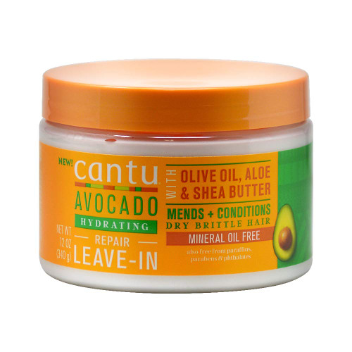 Cantu | Avocado | Hydrating Repair Leave-In With Olive Oil, Aloe & Shea Butter