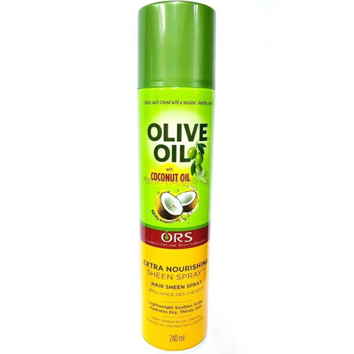 ORS   Olive Oil   Extra Nourishing Sheen Spray   With Coconut Oil