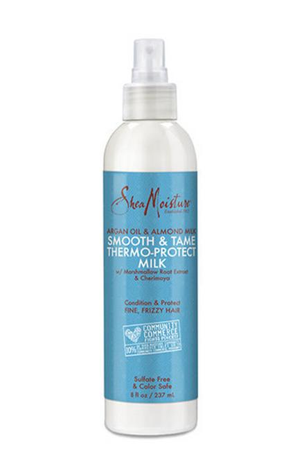 Shea Moisture | Argan Oil & Almond Milk | Smooth & Tame Thermo-Protect Milk(8oz)