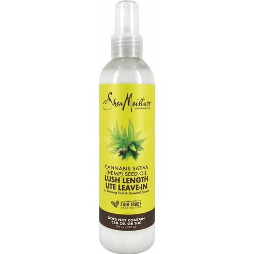 Shea Moisture | Cannabis Sativa (Hemp) Seed Oil | Lush Length Lite Leave-In(8oz)