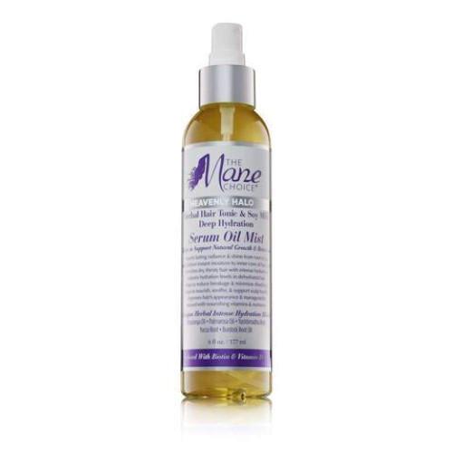 The Mane Choice | Heavenly Halo | Herbal Hair Tonic & Soy Milk Deep Hydration Serum Oil Mist(6oz)