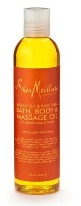 SHEA MOISTURE | ARGAN OIL & RAW SHEA | BATH, BODY & MASSAGE OIL