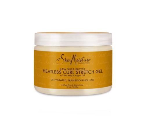 Shea moisture | Raw shea butter | heatless curl stretch gel