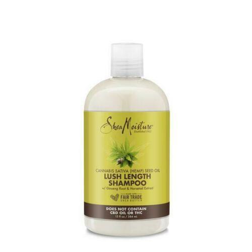 Shea Moisture | Cannabis sativa (hemp) Seed Oil | Lush Length Shampoo
