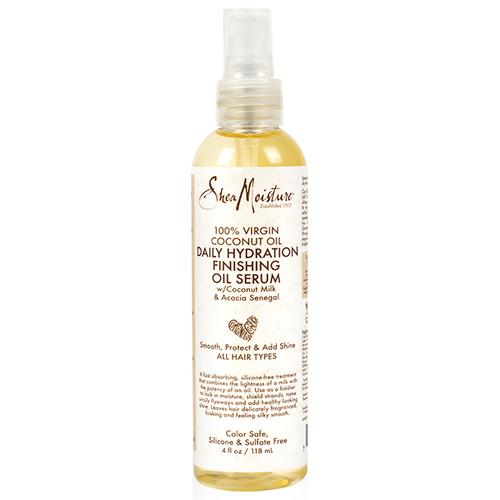 Shea Moisture | 100% Virgin Coconut Oil | Daily Hydration Finishing Oil Serum 4oz