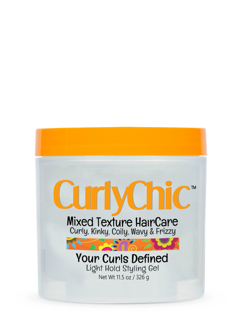 CURLYCHIC | Your Curls Defined Gel | LIGHT HOLD STYLING GEL