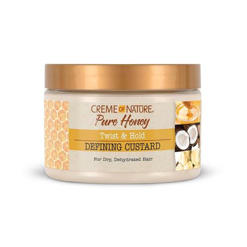 Creme of Nature | Pure Honey | Twist & Hold Defining Custard