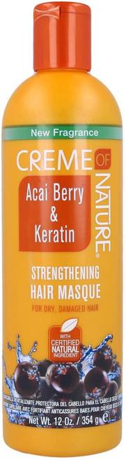Creme of Nature | Acai Berry & Keratin Strengthening Masque