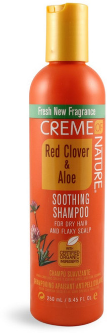 Creme Of Nature – Red Clover & Aloe Soothing Shampoo –