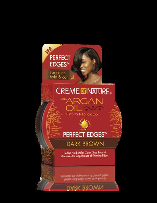 Creme of Nature | Argan Oil | Perfect Edges™ Dark Brown