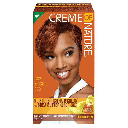 Creme Of Nature Color C32 Spiced Red