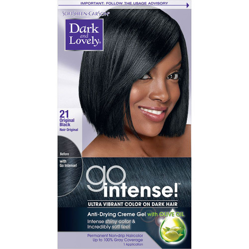 Go Intense Original Black Ultra Vibrant Color 21