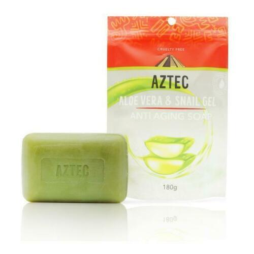 AZTEC ALOE VERA & SNAIL GEL ANTI AGING SOAP 180g