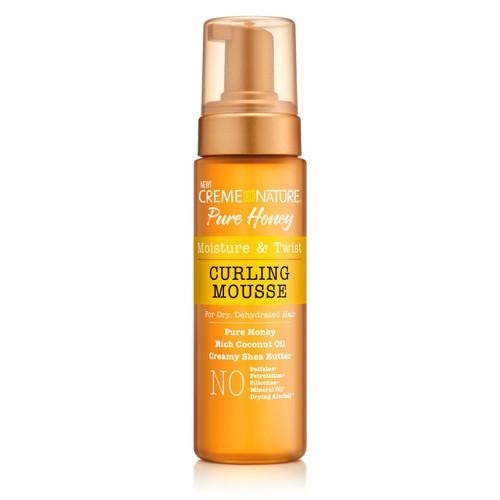 Creme of Nature Pure Honey Moisture & Twist Curling Mousse 7 oz.