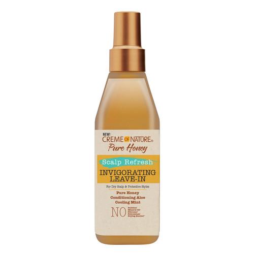 Creme of Nature Pure Honey Scalp Refresh invingorating leave in 236.5ml