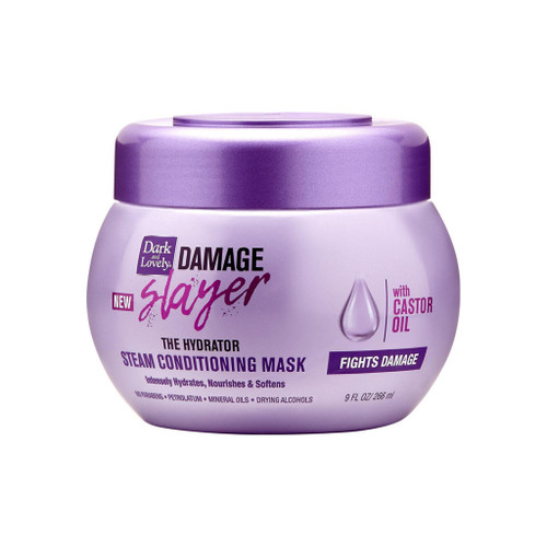 Dark and Lovely Damage Slayer The Hydrator Steam Conditioning Mask 9 oz