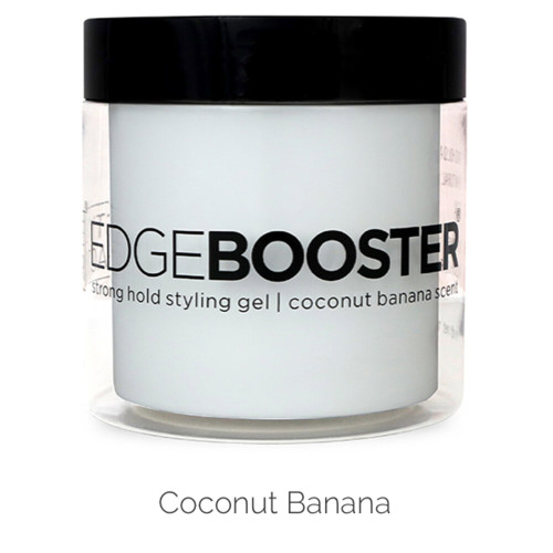 Style Factor Edge Booster Strong Hold Styling Gel 16.9 Oz coconut scent