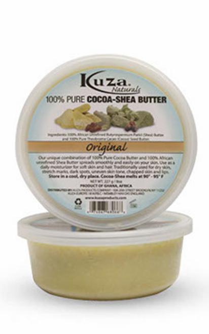 Kuza 100 % Pure Cocoa Shea Butter Original 8oz