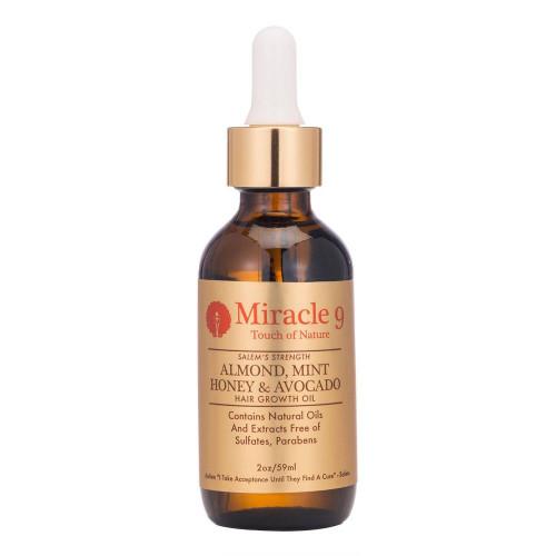 Miracle 9 Salem's Strength Almond, Mint Honey & Avocado Hair Growth Oil