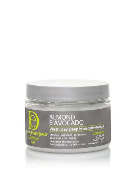 Design essential almond and avocado Wash Day Deep Moisture Masque