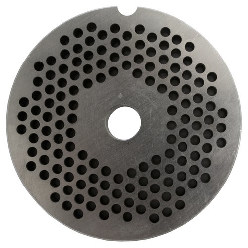 Round Mincer Plate 3mm holes - Part for #12 Mincer
