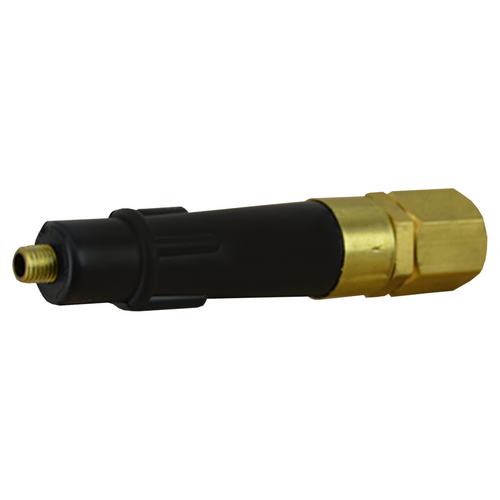 """Air Saver Jet Nozzle - 1/4"""" NTP Brass Tip"""