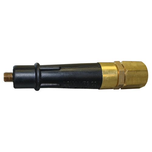"""Air Saver Jet Nozzle - 3/8"""" NTP Brass Tip"""