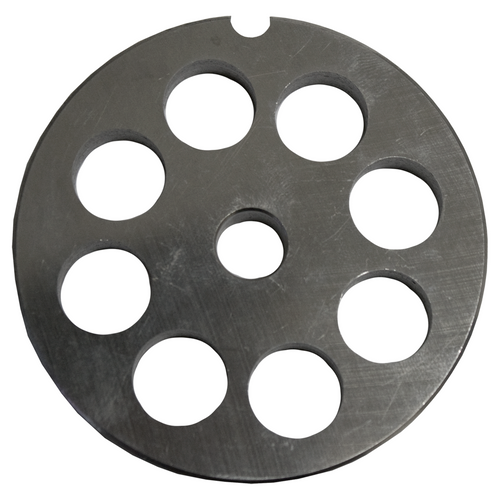 Round Mincer Plate 14mm holes - Part for #12 Mincer