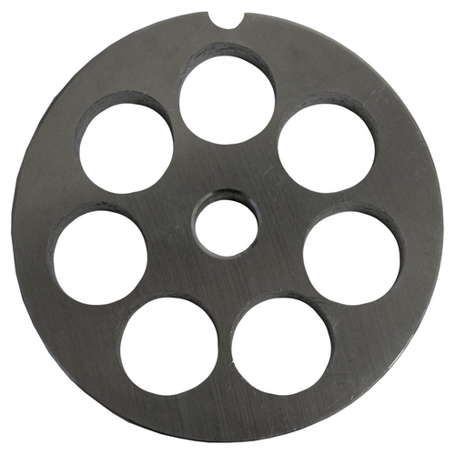 Round Mincer Plate 16mm holes - Part for #12 Mincer