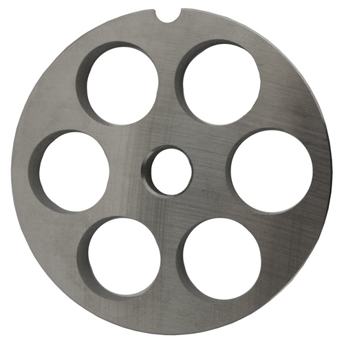 Round Mincer Plate 18mm holes - Part for #12 Mincer