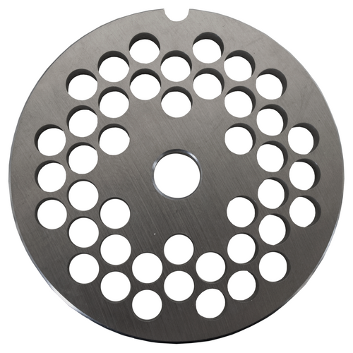 Round Mincer Plate 8mm holes - Part for #22 Mincer
