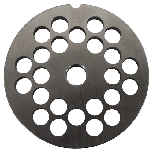 Round Mincer Plate 10mm holes - Part for #22 Mincer