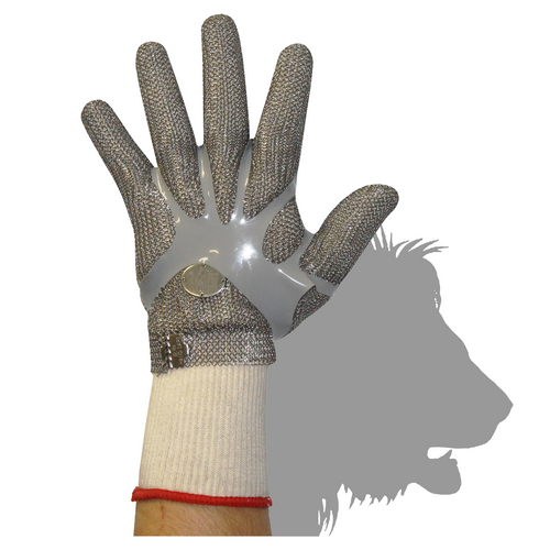 Stainless Steel Chain Mesh Glove - Full Hand (Claw Clasp)