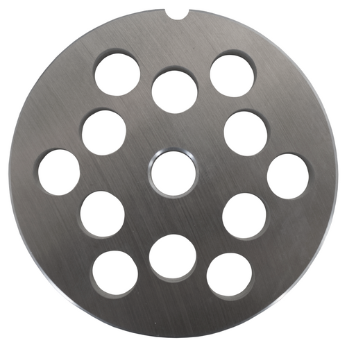 Round Mincer Plate 12mm holes - Part for #22 Mincer