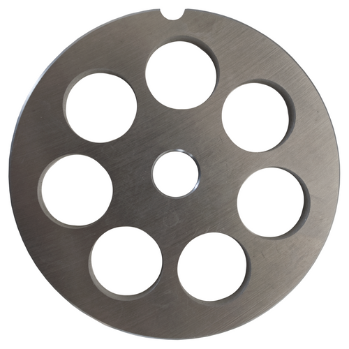 Round Mincer Plate 18mm holes - Part for #22 Mincer