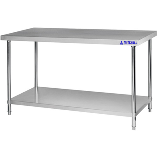 Heavy Duty Reinforced Stainless Steel Work Tables 1200 X 800 X 850