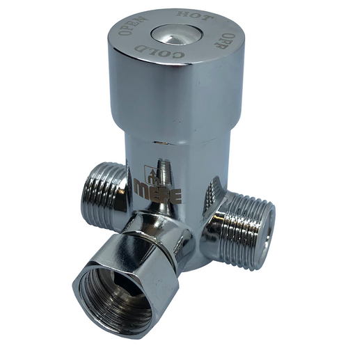 "Water Mixer Adjustable - 1/2"" T piece Brass"