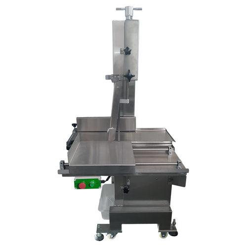 Bandsaw - Butcher Bone Saw 240V Rolling Table - 400 x 275mm wide cutting size