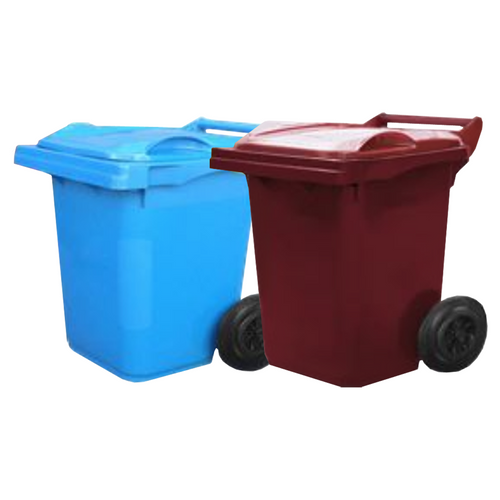 Wheelie Bin 60 Litre Food Grade (Blue or Maroon)