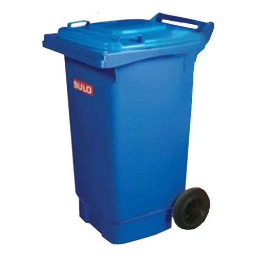 Wheelie Bin 80 Litre Food Grade Blue