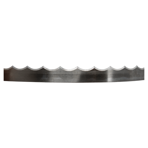 "Bandsaw Blade - 65"" x 1/2"" x 0.025"" x 2TPI (1650mm) Scalloped Double Bevelled"