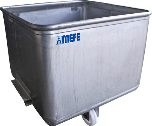 Euro Tub - 190L Stainless Steel Mill Finish