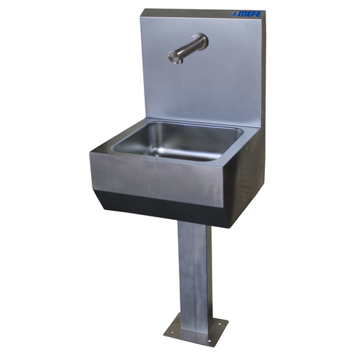 Hand Wash Basin - Wall Mounted, Complete with Pedestal